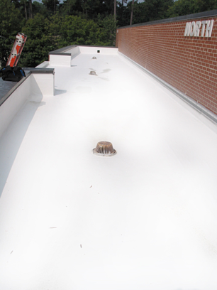 Coating EPDM Roofing