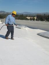 How to Apply an Elastomeric Roof Coating System for Maintenance