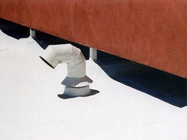 Failing BUR roof
