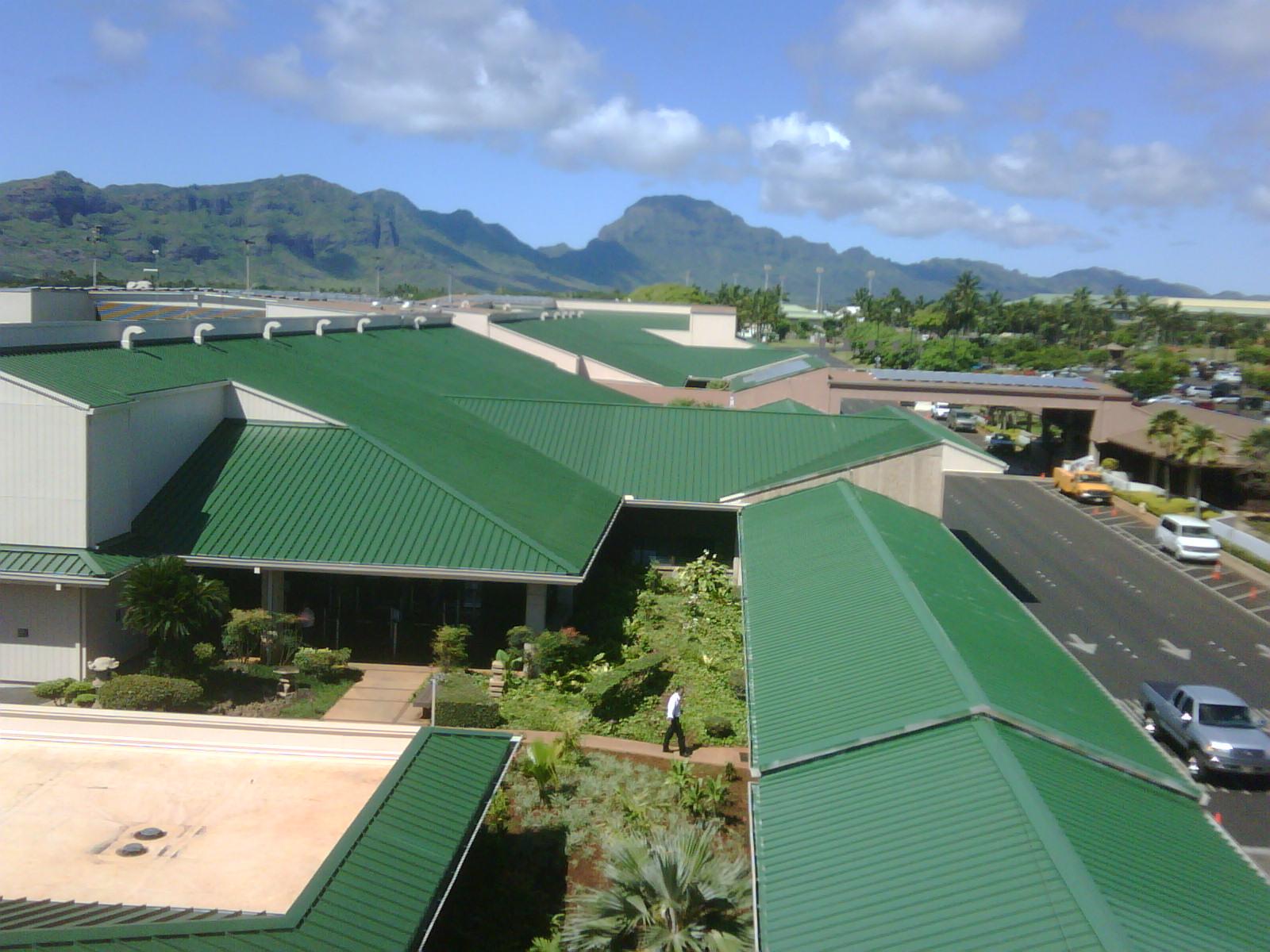 Coat Metal Roofs