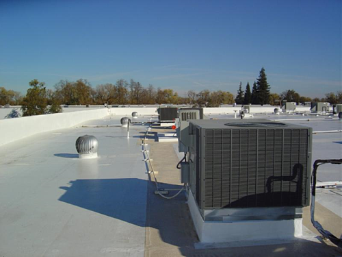 Elastomeric Roof Coating Systems Are Excellent For Pvc