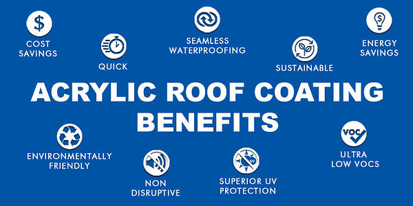 Acrylic Roof Coating Benefits