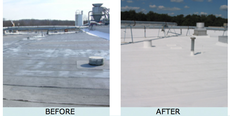 Asphalt Our AcryShield® Asphalt Roof Coating ...