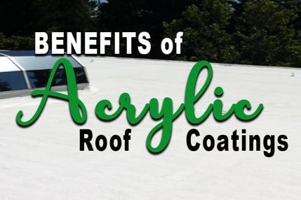 Benefits Acrylic Roof Coatings