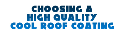 Cool Roof high quality
