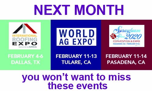 Feb Tradeshows