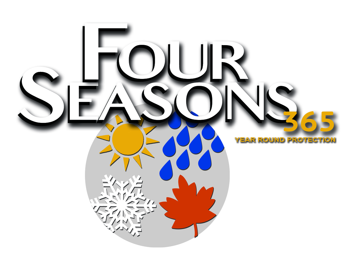 Four Seasons Logo Gray Background