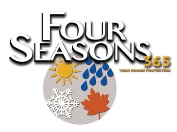 Four Seasons Logo Gray Background