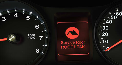 Service Roof Warning