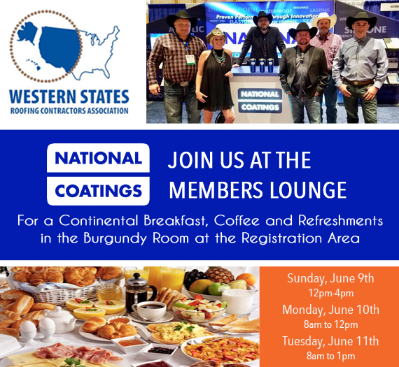 Get Your FREE WSRCA Expo Pass - Join National Coatings at Booth #611